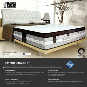 King Koil EMPIRE Comfort Mattress