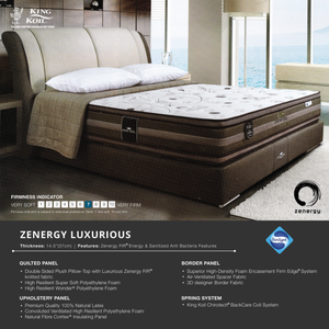 King Koil ZENERGY Luxurious Mattress