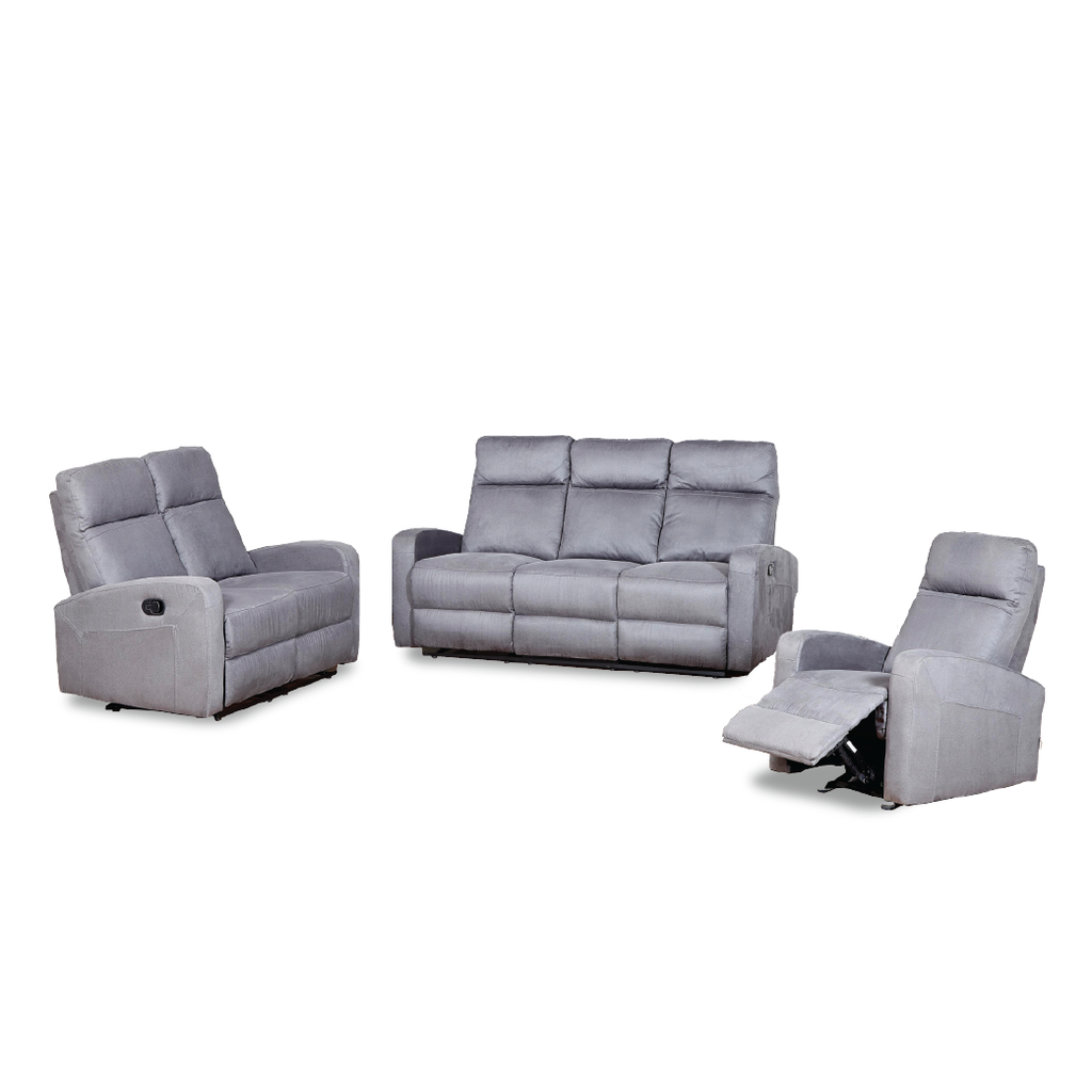 FAIRLEY Recliner Sofa Set (1R+2RR+3RR)