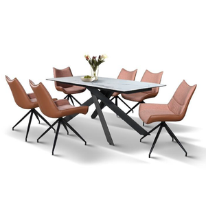 LINDELL Ceramic Dining Table