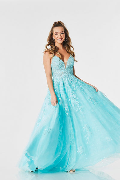 Adelaide prom dress, ballgown by Tiffany's