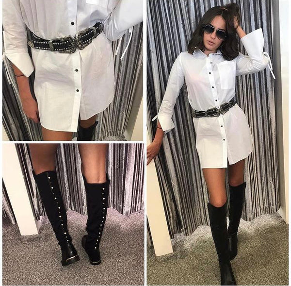 ' Gimme some thigh' over the knee thigh high boots
