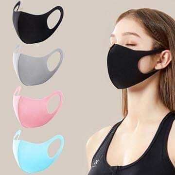 Face masks 4 colours. Cotton blend