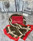 Scarf and gloves & bag - gift bundle
