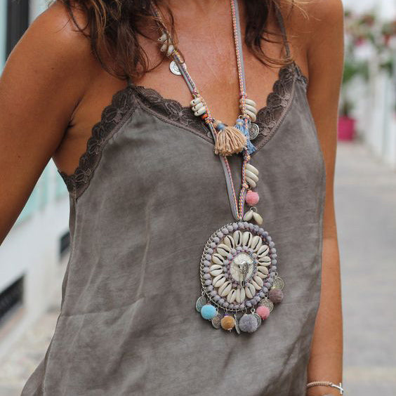 Bohemian Collar Necklace - mookyboutique