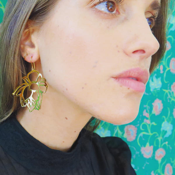 Wild Bird Earrings