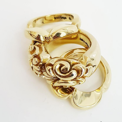 Marigold Stacking rings