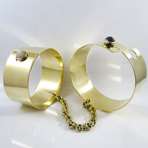 Luxury Handcuff bangle set.