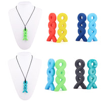 Knit Silicone Necklace