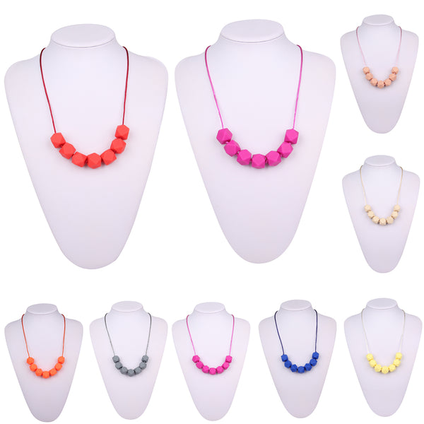 Soft Silicone Beads Necklace