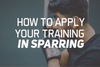How To Apply Your Training In Sparring