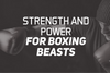 Strength and Power For Boxing Beasts
