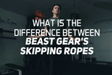 What is the difference between Beast Gear's skipping ropes?