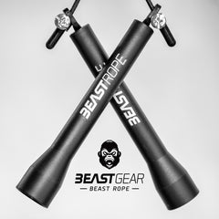 The Beast Rope is the best speed skipping rope for double udners, fat loss, crossfit, boxing and mma training
