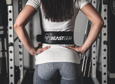 Weight Lifting Belt by Beast Gear | PowerBelt