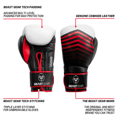 Cowhide Boxing Gloves | Simian