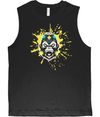 Yellow Splash Men's Vest