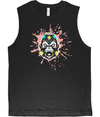 Peach Splash Men's Vest