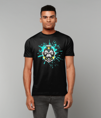 Blue Splash Men's Tee