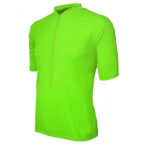 Classic Mens Jersey High Viz Green - Mycyclingpro