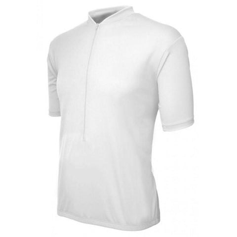 Classic Mens Jersey White - Mycyclingpro