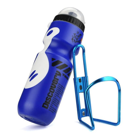 High Quality 650ML Outdoor Water Bottle + Holder