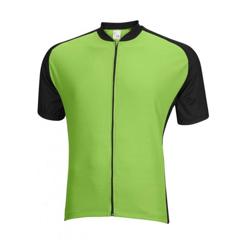 Mens Club Jersey Green - Mycyclingpro