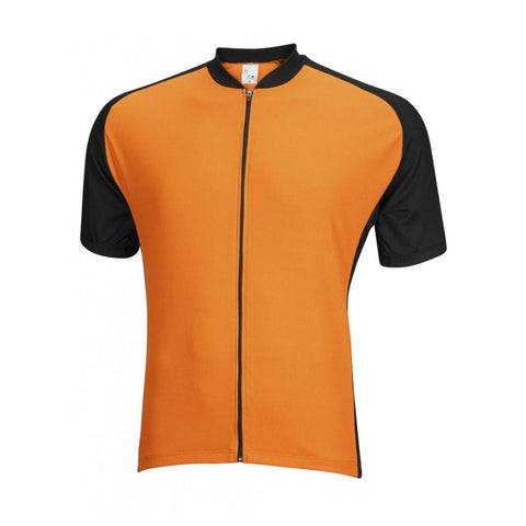Mens Club Jersey Orange - Mycyclingpro