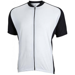Mens Club Jersey White - Mycyclingpro