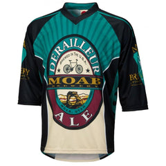 Moab Brewery Derailleur Ale 3/4 Sleeve Mountain Bike Jersey - Mycyclingpro