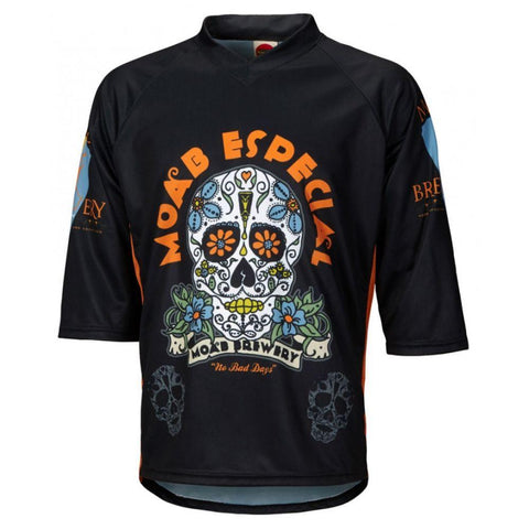 Moab Brewery Especial 3/4 Sleeve Mountain Bike Jersey - Mycyclingpro