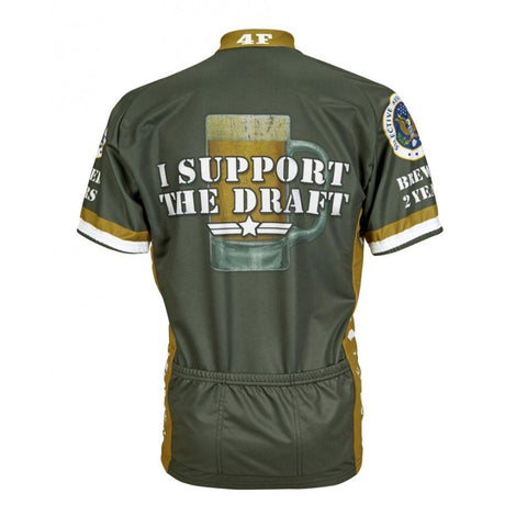 I Support the Draft Cycling Jersey - Mycyclingpro