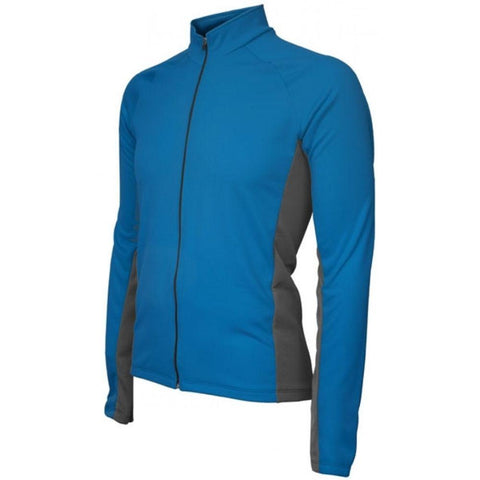 Whistler Winter Long Sleeve Mens Jersey Blue - Mycyclingpro