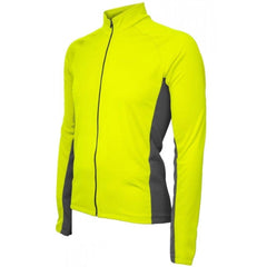 Whistler Winter Long Sleeve Mens Jersey Neon Yellow - Mycyclingpro