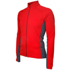 Whistler Winter Long Sleeve Mens Jersey Red - Mycyclingpro