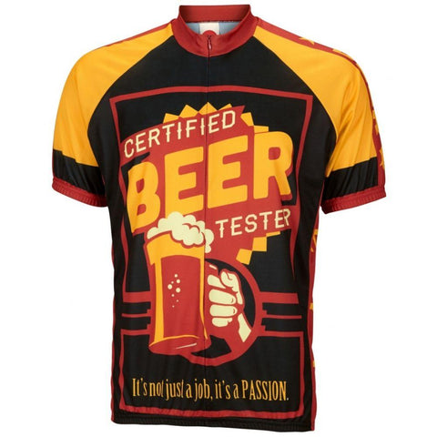 Beer Tester Cycling Jersey - Mycyclingpro