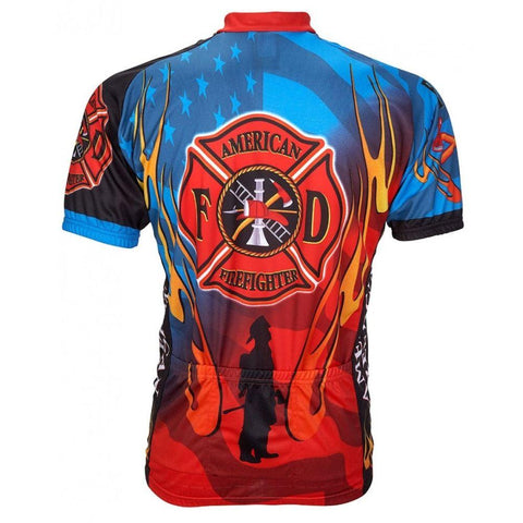 American Firefighter Jersey - Mycyclingpro
