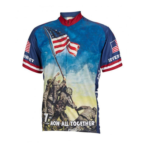 Iwo Jima Never Forget Cycling Jersey - Mycyclingpro