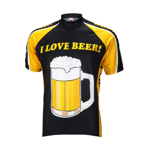I Love Beer Cycling Jersey - Mycyclingpro