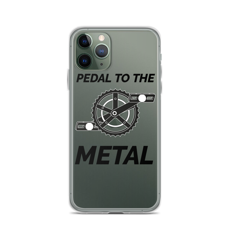 iPhone Pedal To The Metal Case - Mycyclingpro