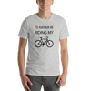 Image of I'd Rather Be Riding My Bike Unisex T-Shirt - Mycyclingpro