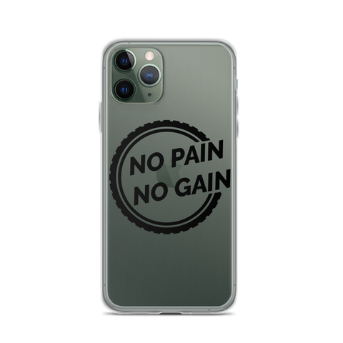 iPhone No Pain No Gain Case - Mycyclingpro