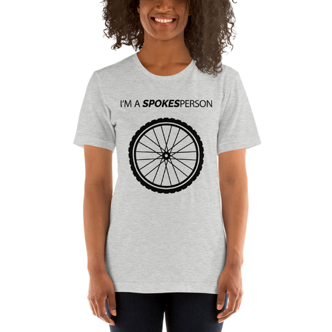 I'm a SPOKESperson T-Shirt - Mycyclingpro