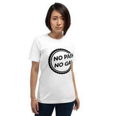 No Pain No Gain T-Shirt - Mycyclingpro