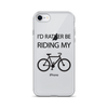 Image of iPhone I'd Rather Be Riding My Bike Case - Mycyclingpro