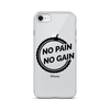 Image of iPhone No Pain No Gain Case - Mycyclingpro