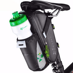 Bicycle Saddle Bag With Water Bottle Pocket - Mycyclingpro