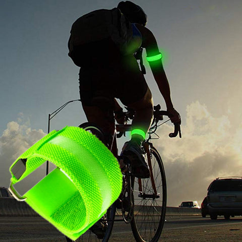 Night Glowing Cycling Cuff - Mycyclingpro