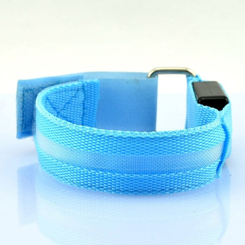 Glowing Cuff for Runners Joggers Cyclists Night Riding Safety