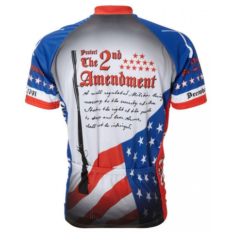 2nd Amendment Jersey - Mycyclingpro
